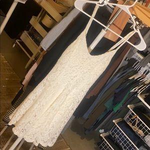 American Eagle lace dress.